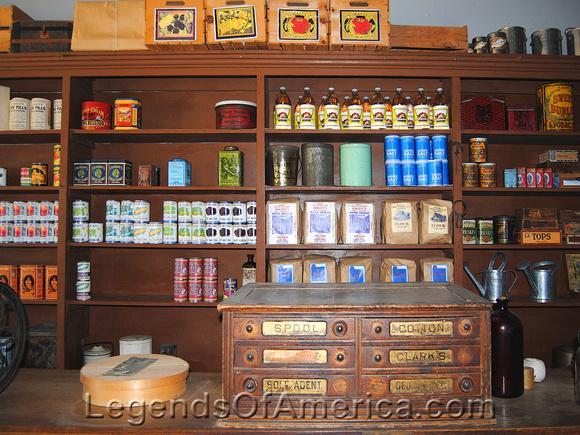 Legends Of America Photo Prints Wichita Wichita Ks Old Cowtown General Store Interior 3