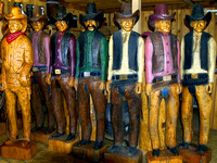 Cowboy Woodcarvings