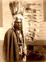 Blackfoot Piegan man