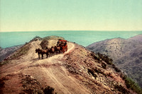 Santa Catalina Island, CA - Stage Road, 1899