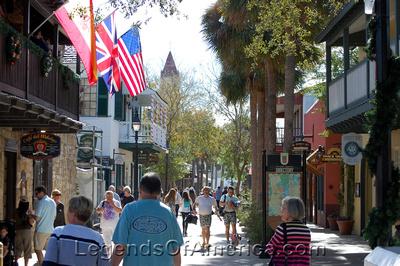 St. Augustine, FL - St. George Street Shops