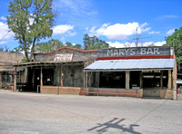 Los Cerrillos, NM - Bar & Antiques