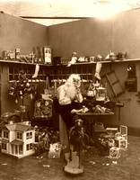 Santa in Workshop, 1906