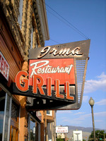 Cody, WY - Irma Restaurant Grill Sign