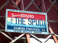 Driggs, ID - Spud Drive-In Sign