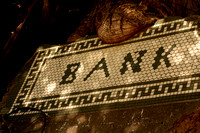 Jerome,  AZ - Bank Sign