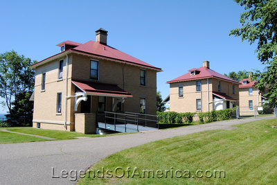Lake Superior, MN - Split Rock Lighthouse Keepers Homes