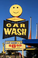 Hollywood, CA - Car Wash Sign