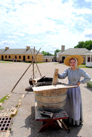 Fort Snelling, MN - Washing Woman