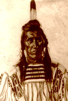 Crow Chief Pretty Eagle