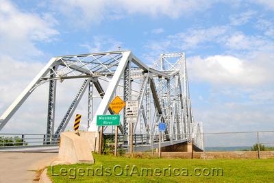 Lansing, IA - 1931 Blackhawk Bridge to Wisconsin