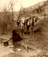 Apache Getting Water, 1903