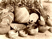 Karuk baskets, 1923