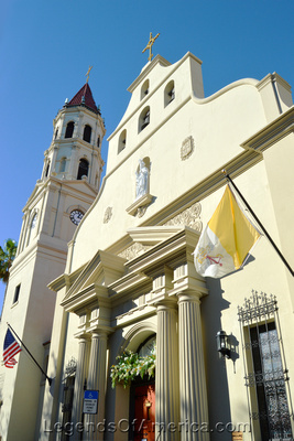 St. Augustine, FL - Cathedral Basilica