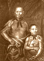 Creek - Chief Tomochichi and Nephew