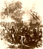Landing of Hernando De Soto in Florida