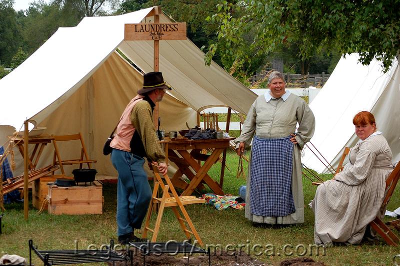 Old World Wisconsin - Laundress
