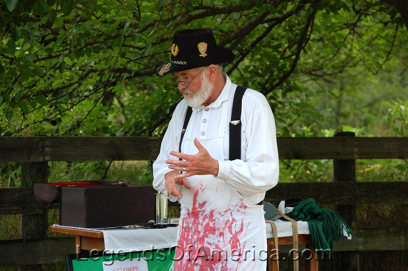 Old World Wisconsin - Civil War Surgeon