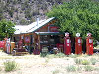 Embudo Station, NM - Gasoline Alley