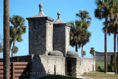 St. Augustine, FL - City Gates
