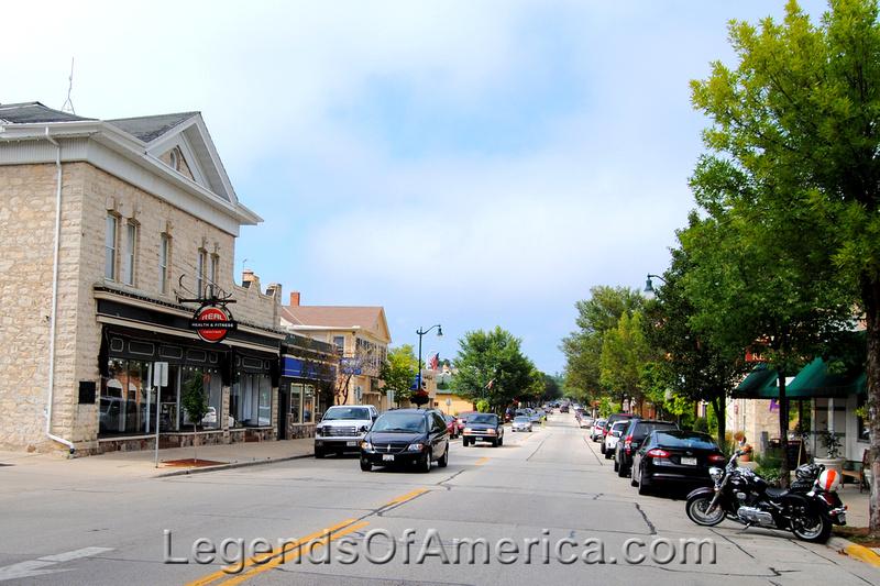 Cedarburg, WI - Main Street