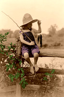 Fishing Girl, 1919