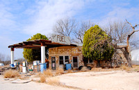 Roosevelt, TX - Old Gas Station
