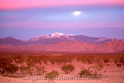 Pahrump, NV - Moon Rising