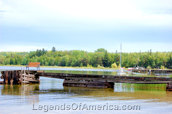 Legends of america photo prints lakes ponds springs for Fish creek door county