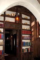 Scotty's Castle, CA - Great Hall Bookcase