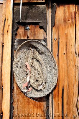 Bonnie Claire, NV - Shack Hat