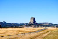Devils Tower, WY - Distant