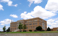 Stinnett, TX - Hutchinson County Courthouse