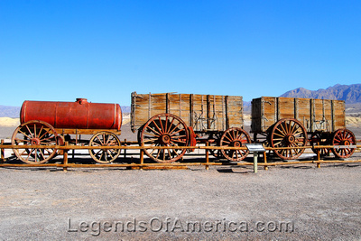 Death Valley, CA - Harmony Borax Works Wagon