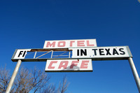 Glenrio, TX-NM - First In Last In - Sign