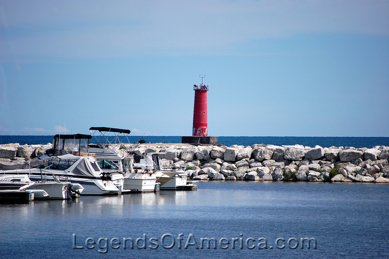 Sheboygan, WI - Breakwater Lighthouse