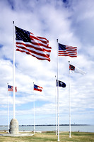 Charleston, SC - Fort Sumter Flags