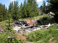 Granite, MT - Collapsed Building