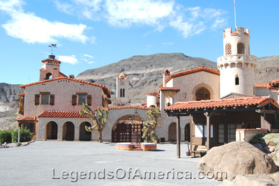 Scotty's Castle, CA - Main House - 2