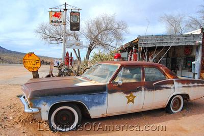 Hackberry, AZ - Sheriff Car