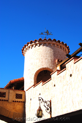 Scotty's Castle, CA - Tower - 3