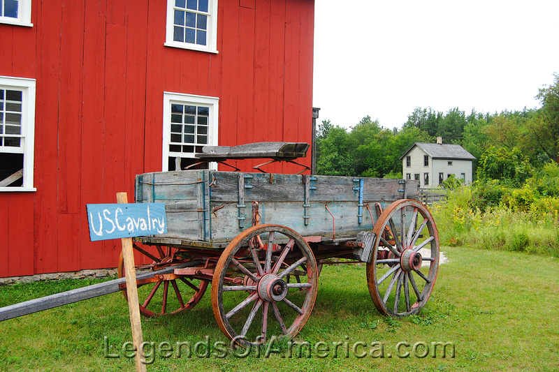 Old World Wisconsin - Cavalry Wagon
