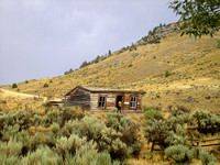 Bannack, MT - Cabin