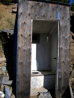 Comet, MT - Outhouse