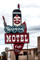 Wyoming Motel and Cafe, Cheyenne, Wyoming