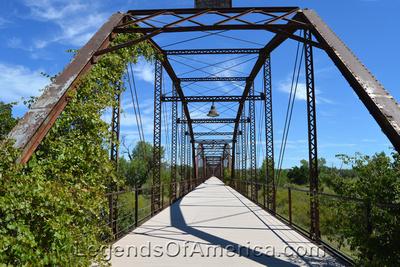 Canadian River 1916 Wagon Bridge