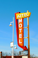 Albuquerque, NM - Aztec Motel Sign