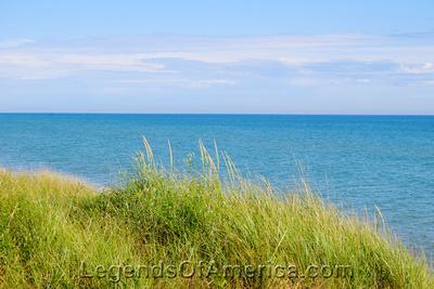 Sturgeon Bay - Lake Michigan Near Sturgeon Bay