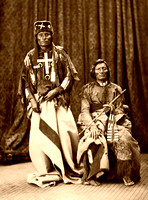 Chiefs Little Wolf and Dull Knife, Northern Cheyenne