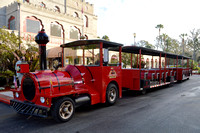 St. Augustine, FL - Red Train Trolley